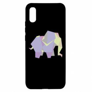 Etui na Xiaomi Redmi 9a Elephant abstraction