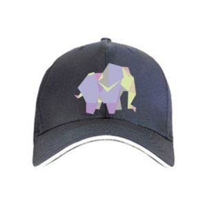 Czapka Elephant abstraction