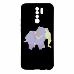 Etui na Xiaomi Redmi 9 Elephant abstraction