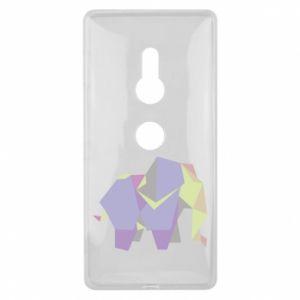 Etui na Sony Xperia XZ2 Elephant abstraction