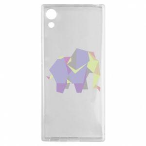 Etui na Sony Xperia XA1 Elephant abstraction
