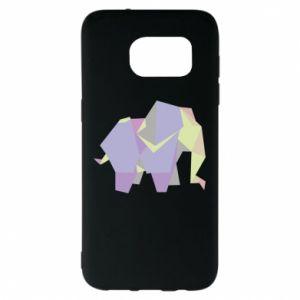 Etui na Samsung S7 EDGE Elephant abstraction