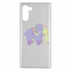 Etui na Samsung Note 10 Elephant abstraction