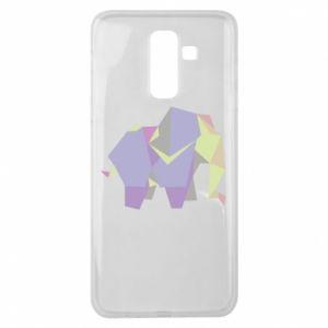 Etui na Samsung J8 2018 Elephant abstraction