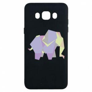 Etui na Samsung J7 2016 Elephant abstraction