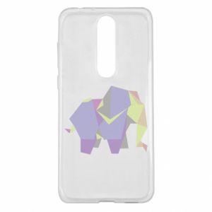 Etui na Nokia 5.1 Plus Elephant abstraction