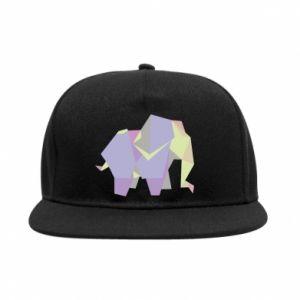 SnapBack Elephant abstraction - PrintSalon