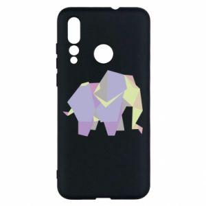 Etui na Huawei Nova 4 Elephant abstraction