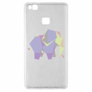 Etui na Huawei P9 Lite Elephant abstraction