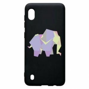 Etui na Samsung A10 Elephant abstraction