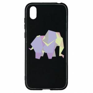 Etui na Huawei Y5 2019 Elephant abstraction