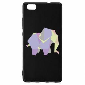 Etui na Huawei P 8 Lite Elephant abstraction