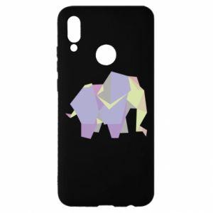 Etui na Huawei P Smart 2019 Elephant abstraction