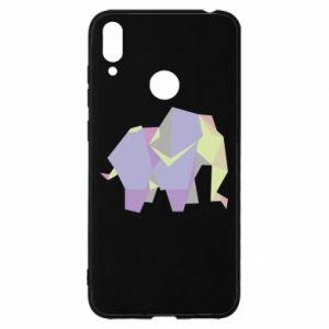 Etui na Huawei Y7 2019 Elephant abstraction