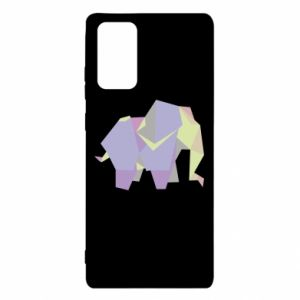 Etui na Samsung Note 20 Elephant abstraction