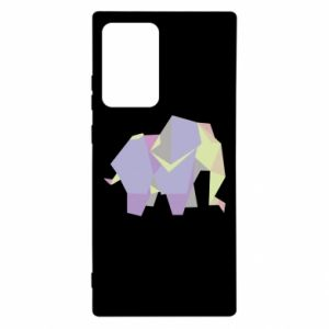 Etui na Samsung Note 20 Ultra Elephant abstraction