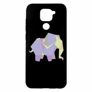 Etui na Xiaomi Redmi Note 9/Redmi 10X Elephant abstraction