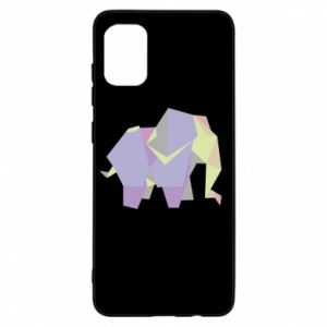 Etui na Samsung A31 Elephant abstraction