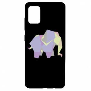 Etui na Samsung A51 Elephant abstraction