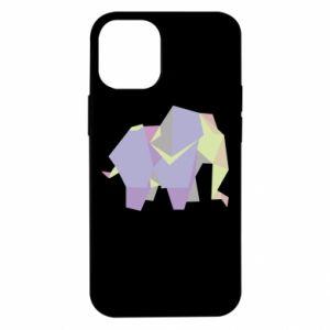 Etui na iPhone 12 Mini Elephant abstraction