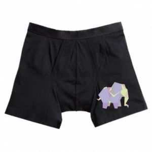 Bokserki męskie Elephant abstraction