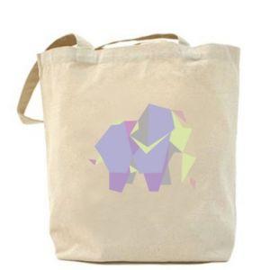 Bag Elephant abstraction - PrintSalon