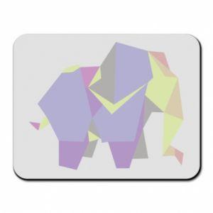 Mouse pad Elephant abstraction - PrintSalon