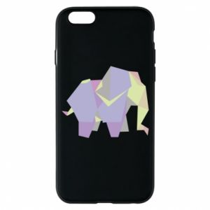 Phone case for iPhone 6/6S Elephant abstraction - PrintSalon
