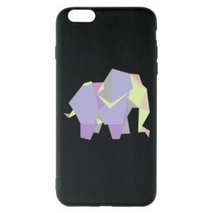 Phone case for iPhone 6 Plus/6S Plus Elephant abstraction - PrintSalon