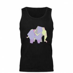 Men's t-shirt Elephant abstraction - PrintSalon