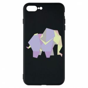 Phone case for iPhone 7 Plus Elephant abstraction - PrintSalon