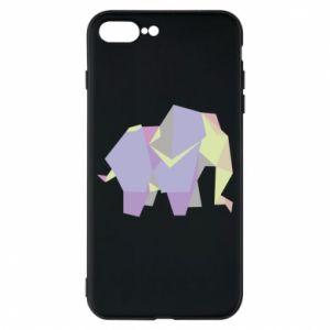 Phone case for iPhone 8 Plus Elephant abstraction - PrintSalon