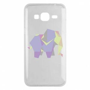 Phone case for Samsung J3 2016 Elephant abstraction - PrintSalon