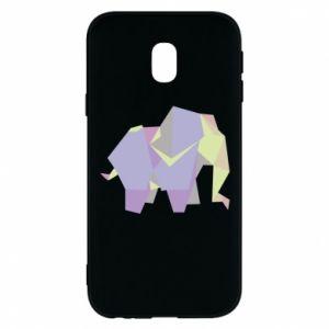 Phone case for Samsung J3 2017 Elephant abstraction - PrintSalon