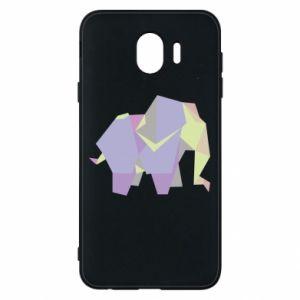 Etui na Samsung J4 Elephant abstraction