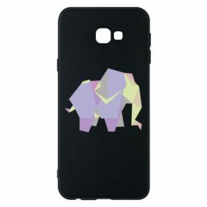 Phone case for Samsung J4 Plus 2018 Elephant abstraction - PrintSalon