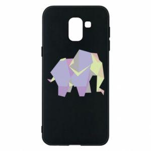 Etui na Samsung J6 Elephant abstraction