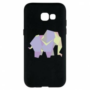 Phone case for Samsung A5 2017 Elephant abstraction - PrintSalon