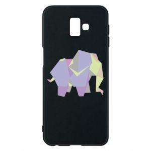 Phone case for Samsung J6 Plus 2018 Elephant abstraction - PrintSalon