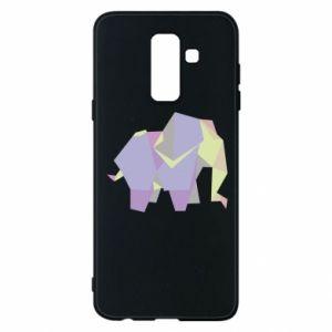 Phone case for Samsung A6+ 2018 Elephant abstraction - PrintSalon