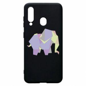 Etui na Samsung A60 Elephant abstraction