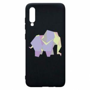 Etui na Samsung A70 Elephant abstraction