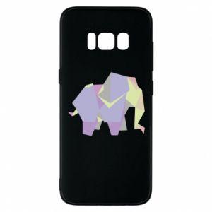 Phone case for Samsung S8 Elephant abstraction - PrintSalon