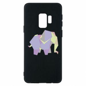 Phone case for Samsung S9 Elephant abstraction - PrintSalon