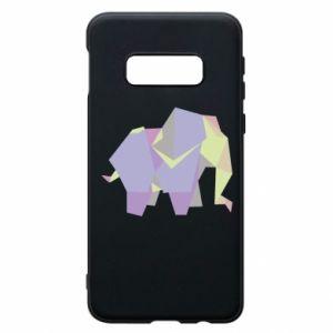 Phone case for Samsung S10e Elephant abstraction - PrintSalon