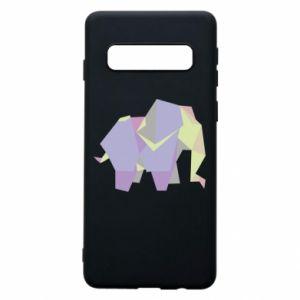 Etui na Samsung S10 Elephant abstraction