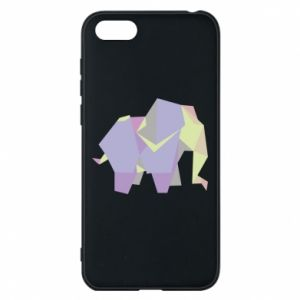 Phone case for Huawei Y5 2018 Elephant abstraction - PrintSalon