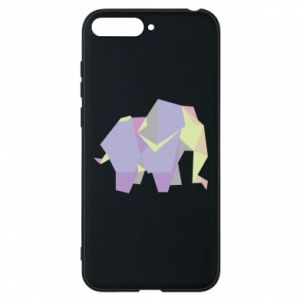 Phone case for Huawei Y6 2018 Elephant abstraction - PrintSalon