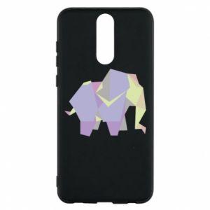Phone case for Huawei Mate 10 Lite Elephant abstraction - PrintSalon