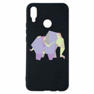 Phone case for Huawei P Smart Plus Elephant abstraction - PrintSalon